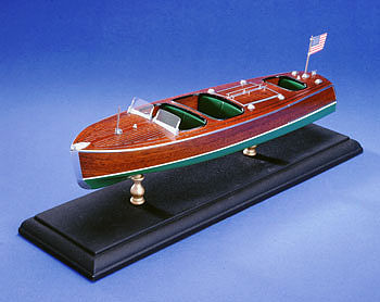 wood ship models, wood boats,Triple Cockpit 27' Barrel Back Kit