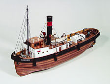 wood ship models, wood boats,1/50 Sanson Tugboat Kit