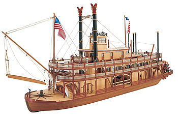 wood model ships, wood ship models,1/80 Mississippi