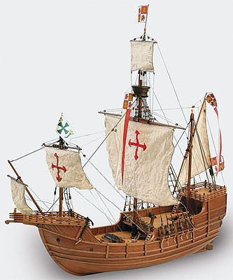 wood model ships, wood ship models,1/65 Santa Maria